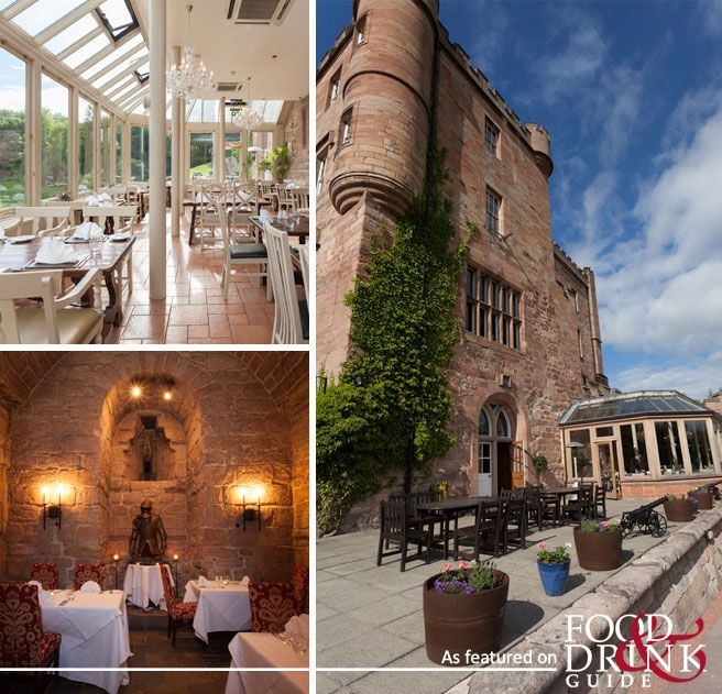 Dalhousie Castle, just outside Edinburgh, sits majestically amidst nine acres of wooded parkland. It has a private chapel, spa, sumptuously furnished rooms and a barrel-vaulted dungeon home to a fine-dining restaurant