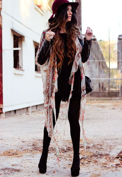 Love this boho outfit! Show us your style by building your virtual closet at http://wishi.me/r/AT