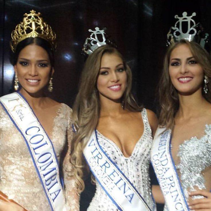 La flamante reina de #Colombia @andreatov #srtachocó y ahora #SrtaColombia #virreinanacional #srtacesar y 2da princesa #SrtaAtlantico! #bellísima #dignarepresentantes by realandia
