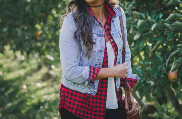 The perfect outfit for apple picking