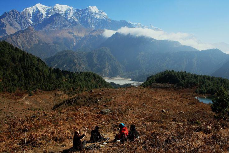 At Sekong Lake, Kali Gandaki Valley snowcattravel.com