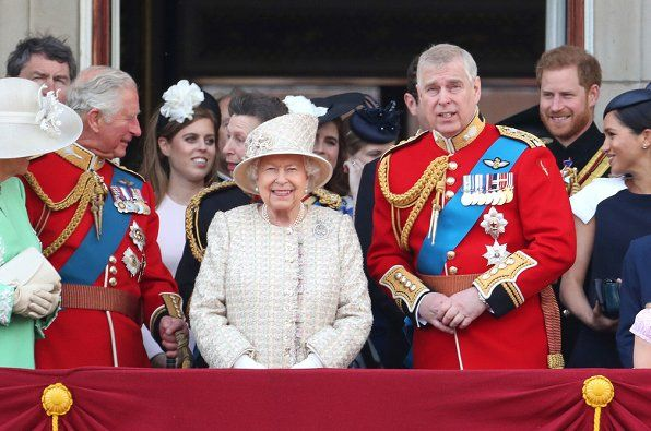 Royal Family attends the 2019 Trooping the Colour Ceremony