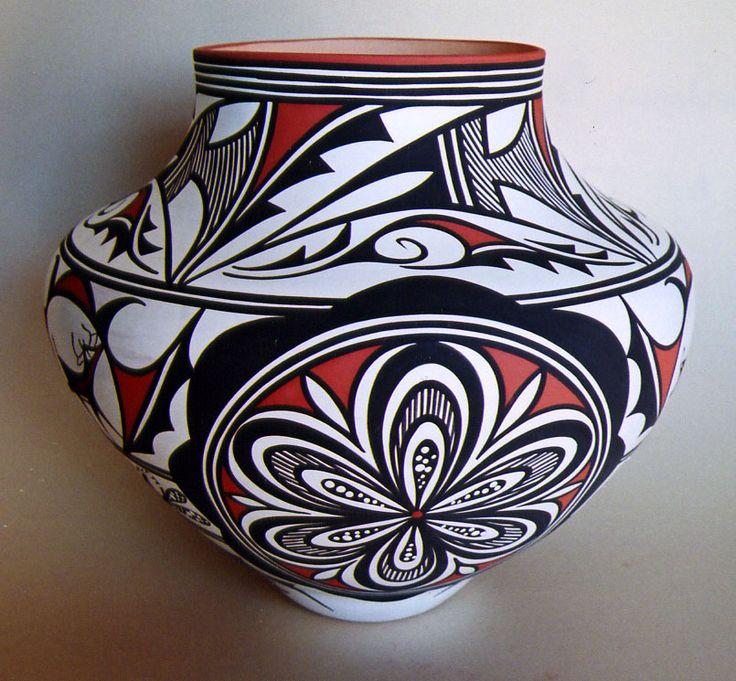 Zuni pottery.  American SW