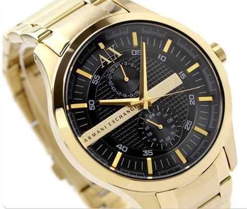 43 best images about gold black black gold watch resonate armani exchange ax1272 wrist watch for men