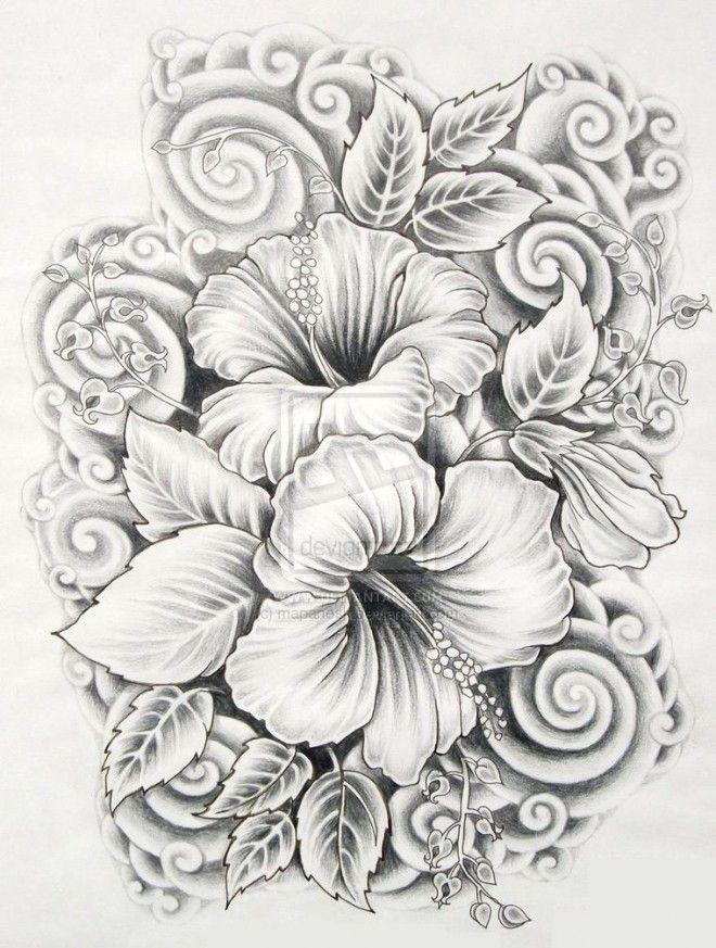 flores tattoo design - Buscar con Google