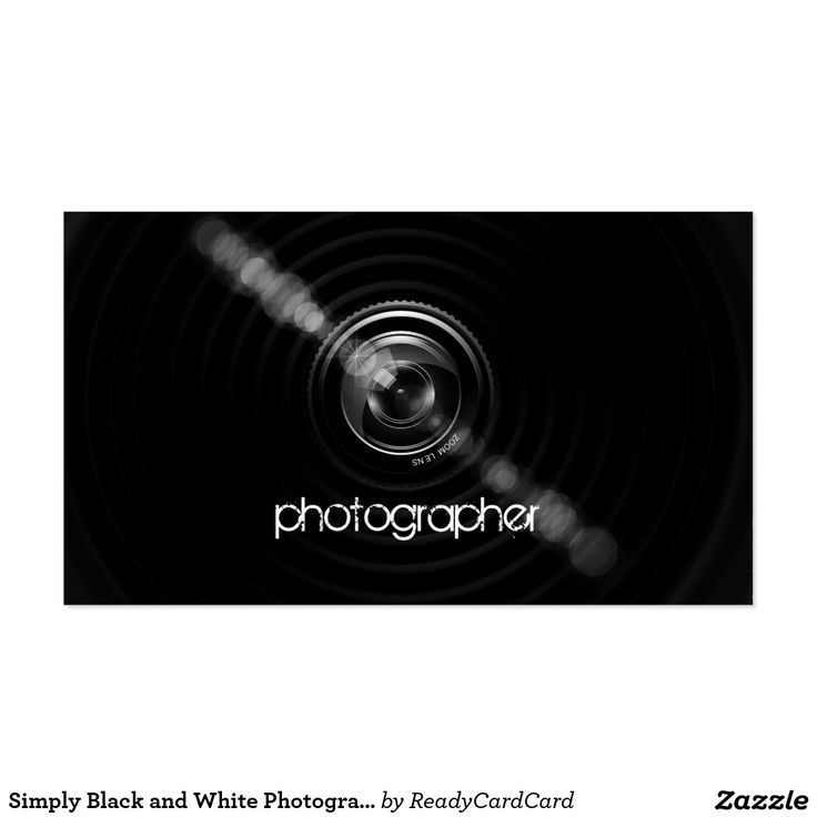 45 best Photographer Business Cards ideas images on Pinterest ...