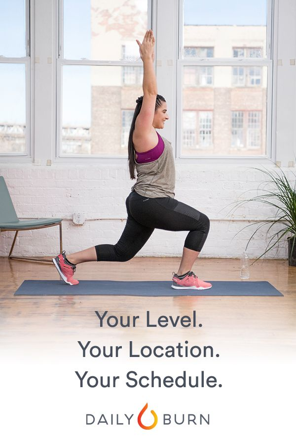 Daily Burn has streaming workouts for all levels and schedules, with trainers who will help you reach your fitness goals. Start your 30-day free trial and choose from a variety of workouts, each ranging from 15 minutes to an hour, and all available on your favorite device.