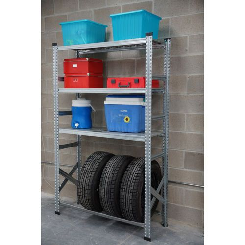 Metalsistem –  Tire Rack Shelving Unit