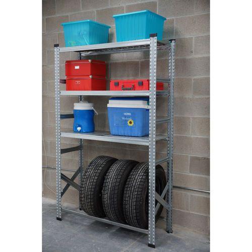 Metalsistem –  Tire Rack Shelving Unit