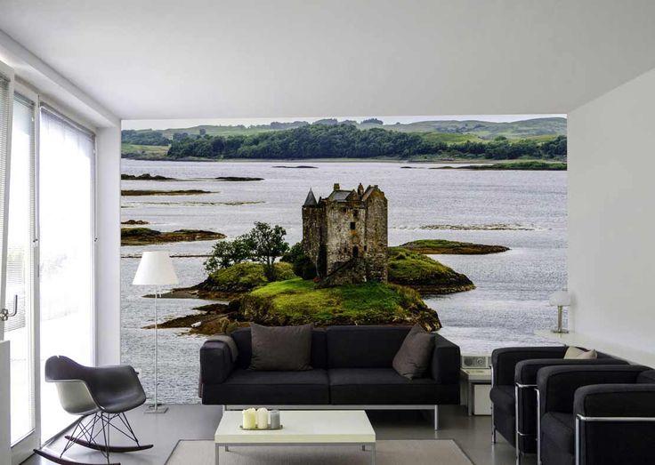 Castle island - Poster paysage d'Écosse dans votre salon