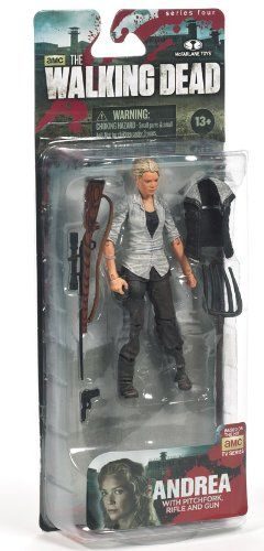 McFarlane Toys The Walking Dead TV Series 4 Andrea Action Figure $10.25 (32% OFF)