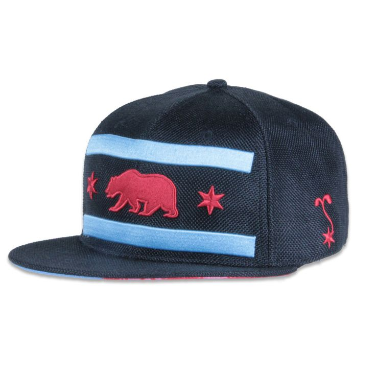 Chi Bear Black Hemp Fitted