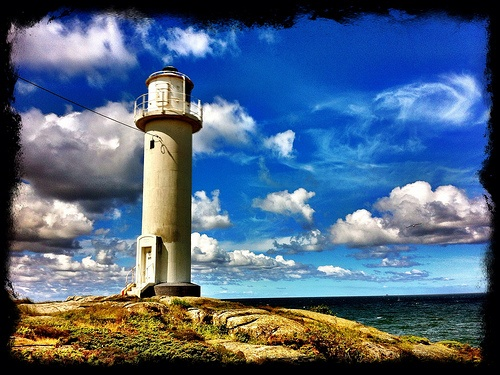 Subbe Lighthouse Varberg Sweden