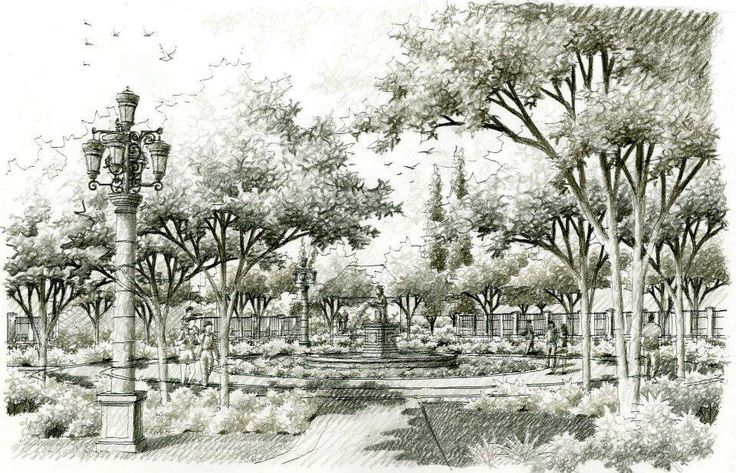 45 best gardens sketch images on pinterest landscape for Filipino landscape architects