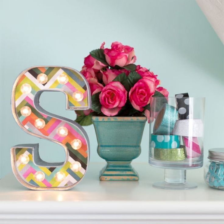 Letra luminosa con bombillas led personalizable - Minimoi