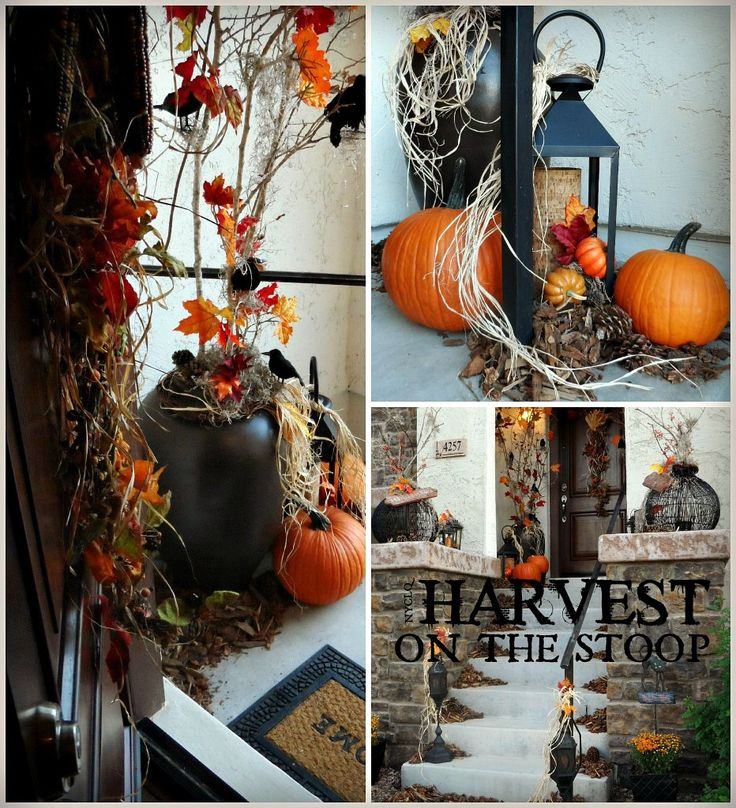 focal point rental restyle setting a harvest entry - Halloween Rental Decorations
