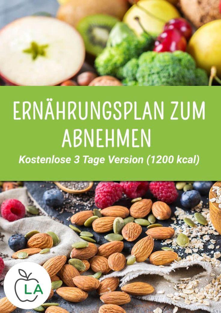 Kostenloser Diätplan zum Abnehmen