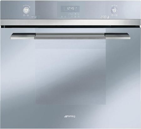"""SOU130S 30"""" Linea Series Multifunction Oven with 4.34 cu. ft. Capacity 11 Cooking Function Digital Electronic Display Ergonomic backlit Transparent Controls and Self Cleaning"""