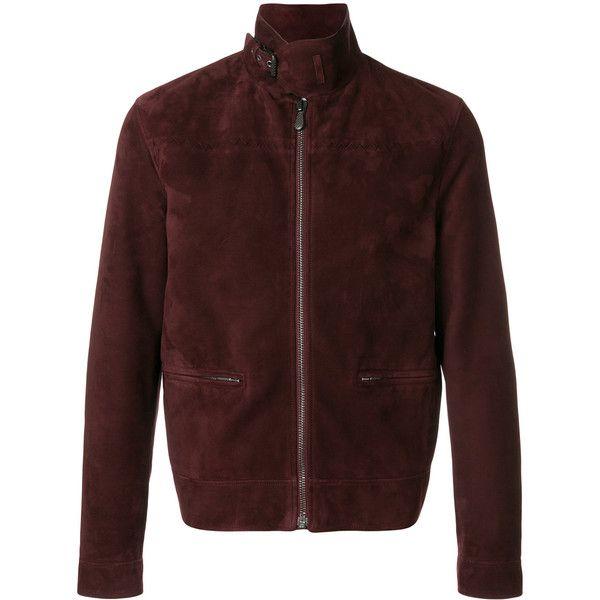 Bottega Veneta suede biker jacket ($3,950) ❤ liked on Polyvore featuring men's fashion, men's clothing, men's outerwear, men's jackets, mens suede motorcycle jacket, mens zip jacket, men's stand collar jacket, mens suede jacket and men's stand up collar jacket