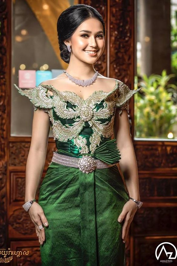 Khmer Wedding Costume Traditional Dresses Traditional Outfits