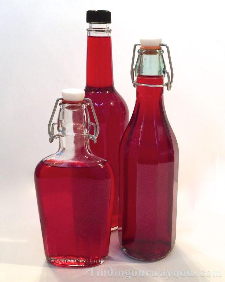 Homemade Cranberry Orange Cordial, findingourwaynow.com
