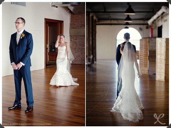 Liberty Warehouse Brooklyn NY Anne Adams Wedding