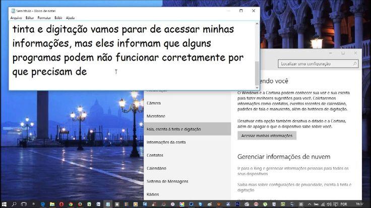 Windows 10 - Configurações de Privacidade ♡ ♥