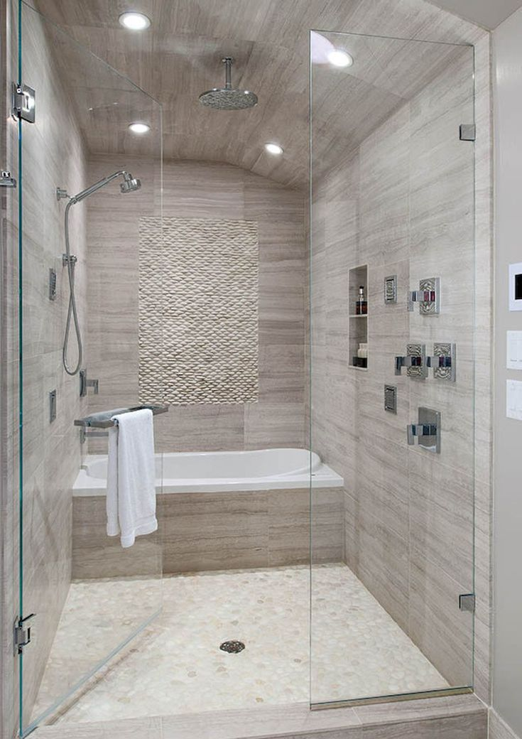 Cool Bathroom Shower Makeover Ideas (8)