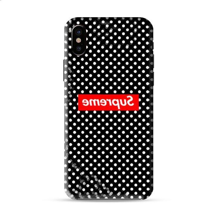 Supreme Clothing Skateboarding Logo Iphone X 3D Case Caseperson