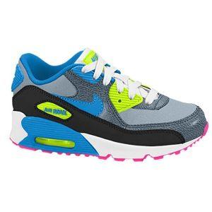 nike air max 95 blue and grey,Nike Air Max 90 - Boys' Preschool - Running -  Shoes - Magnet Grey/Dark Magnet Grey/Volt/Photo Blu