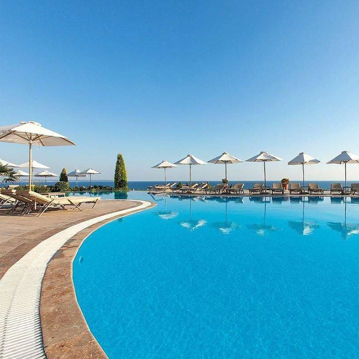 Double tap if you want to be here right now! #hotelgoals Pictured: Ikos Oceania Nea in Moudania Greece  the #2 #TravelersChoice All-Inclusive resort in Europe Hotels-live.com via https://instagram.com/p/-JgLUrEgXG/