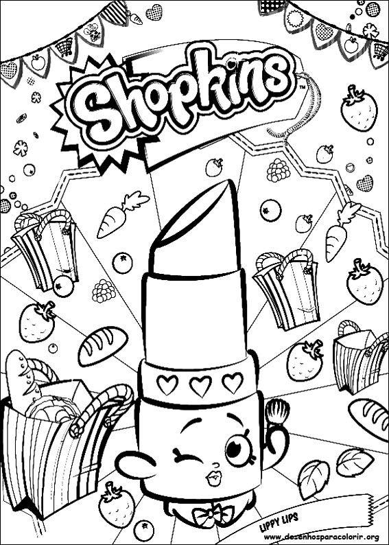 Resultado De Imagem Para Imagens De Shopkins Para Colorir Para