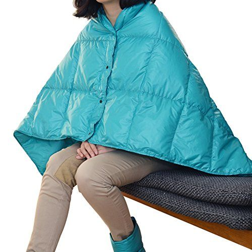 AB Crew MultiPurpose 55x335 Portable Lightweight Duck Down Feather Outdoor Travel Blanket -- Click image for more details. #SleepingBagsandCampBedding