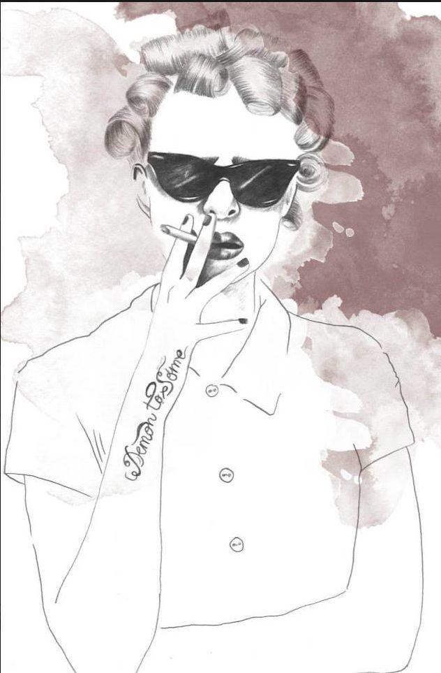Fashion illustration // laindiaillustration