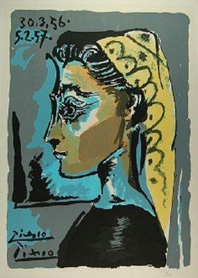 Jacqueline Roque (París, 24 de febrero de 1927 - 15 de octubre de 1986) fue musa y segunda esposa de Pablo Picasso. Su matrimonio duró 20 años, hasta la muerte del pintor. Durante ese período Picasso la recreó en más de 400 retratos.