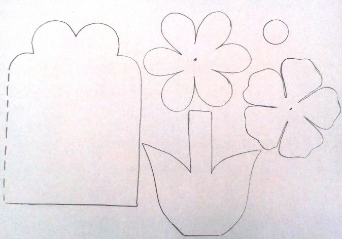 Про, шаблоны открыток для мамы своими руками