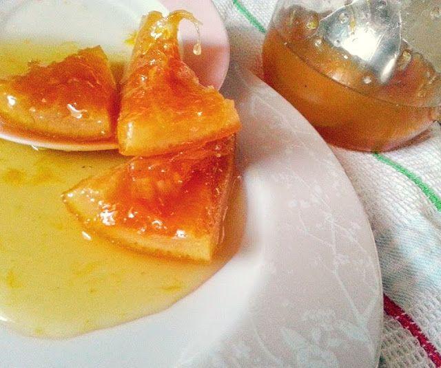 Eva In Tasteland: Γλυκό κουταλιού πορτοκάλι με την ψίχα της Μαρίας Σ...