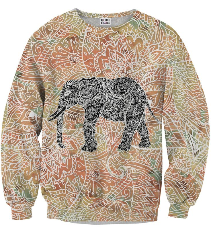Indian elephant sweater, Mr. GUGU & Miss GO