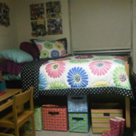 Elevating Dorm Room Beds