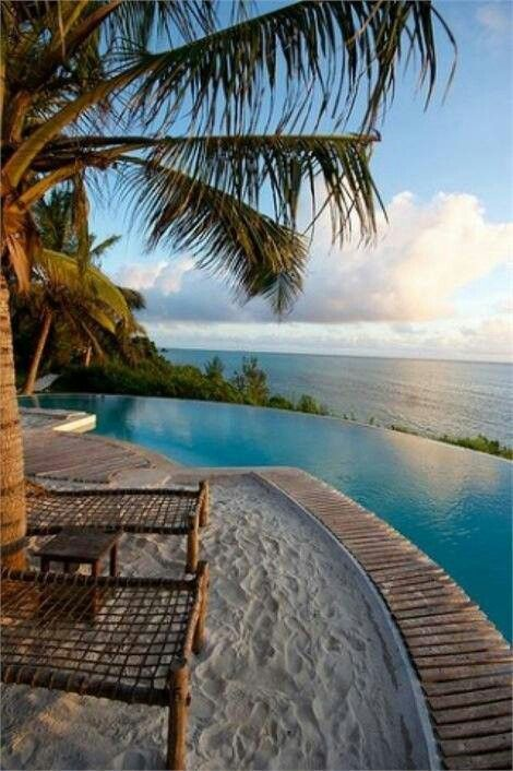 Zanzibar, Africa...if I can get me a hotel view like this...consider me there! www.annjaneliving.com