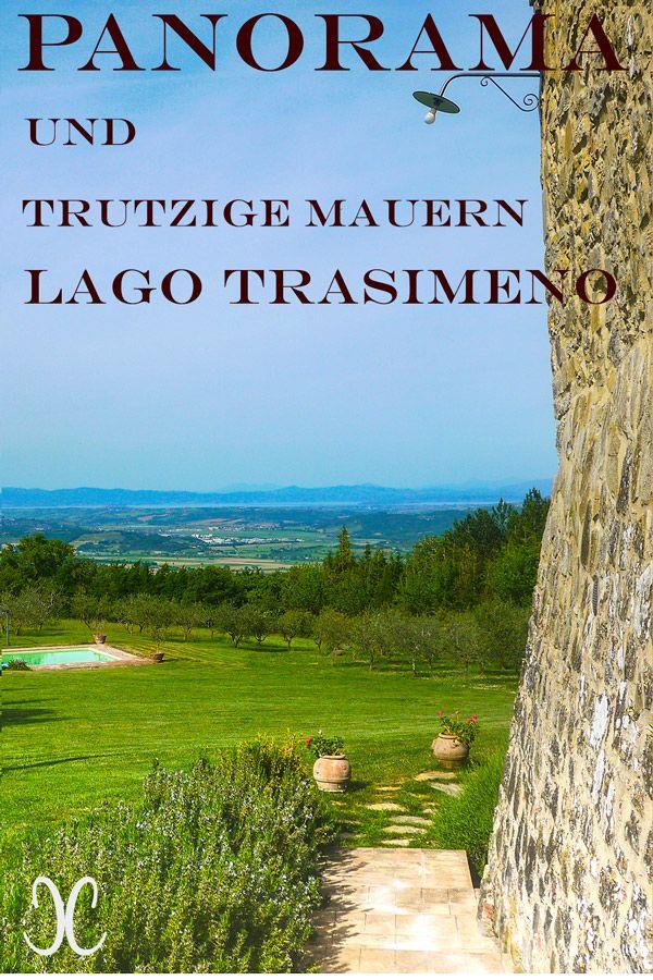 Ferienhaus in der Süd-Toskana: Blick auf den Lago Trasimeno