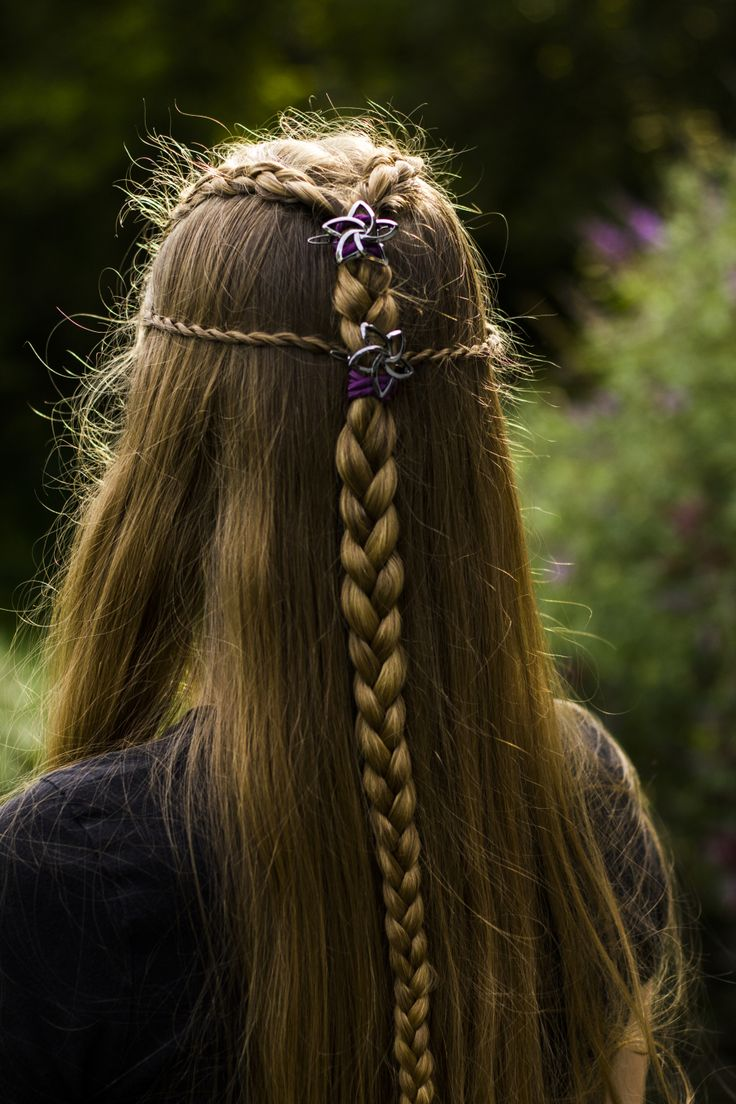 Cool Elvish Braided Hairstyle