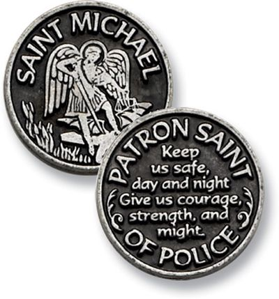 Saint Michael - Patron Saint of Police (For My Love <3)
