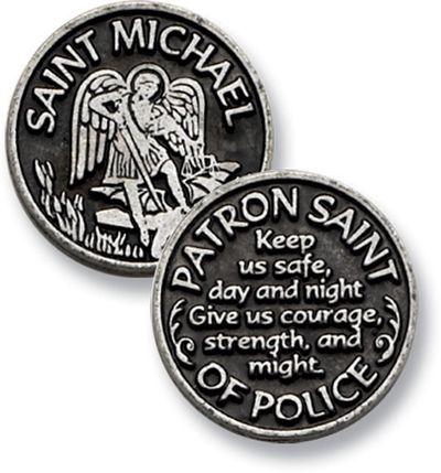 Saint Michael - Patron Saint of Police (For My Love <3)