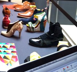 Footwear design work from DMU students exhibits in Sao Paulo, Brazil – showcasing our talent on an international stage.