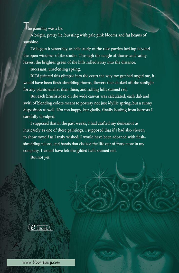 Feyre has a plan...    THE WORLD OF SARAH J. MAAS — ACOWAR back covers! Top: UK/AUS. Bottom: US.