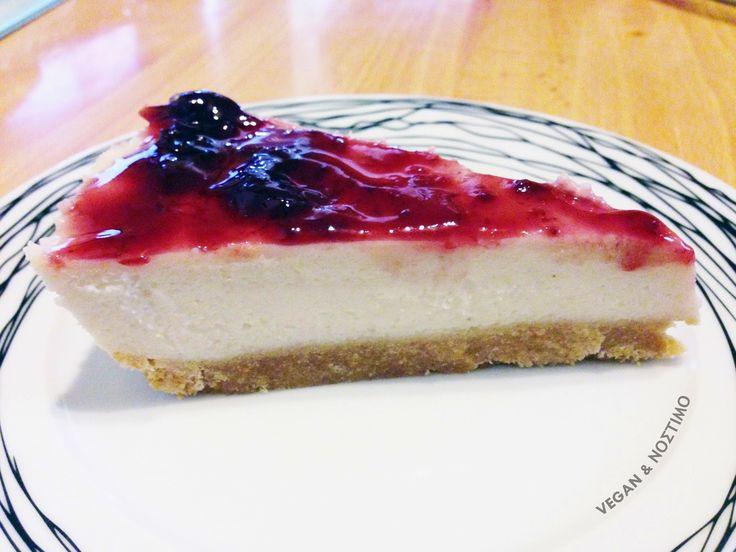 Vegan & Νόστιμο: Vegan Cheesecake