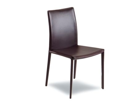 Dining chair in vinyl