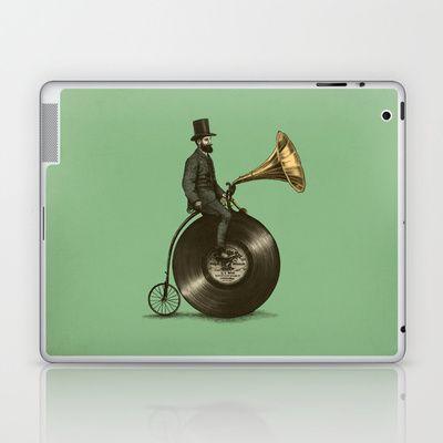 """Music Man"" Laptop Skin from society6"