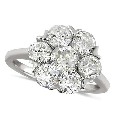 ... Stone Flower Shaped Diamond